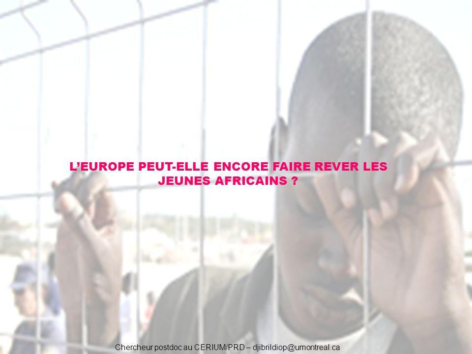 L'EUROPE PEUT-ELLE ENCORE FAIRE REVER LES JEUNES AFRICAINS