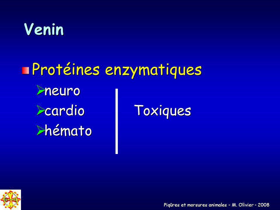 Protéines enzymatiques