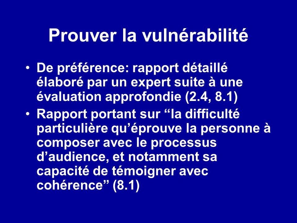 Prouver la vulnérabilité