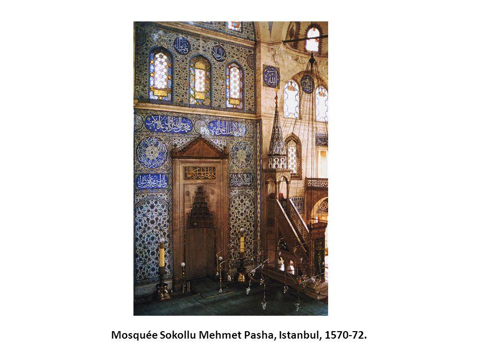 Mosquée Sokollu Mehmet Pasha, Istanbul, 1570-72.