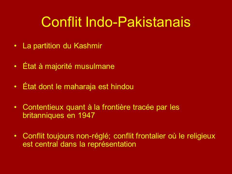 Conflit Indo-Pakistanais