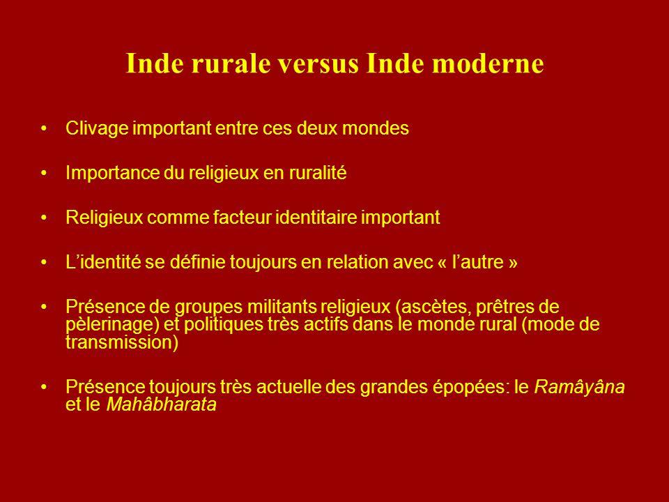 Inde rurale versus Inde moderne