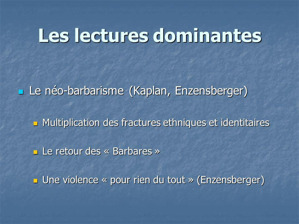 Les lectures dominantes