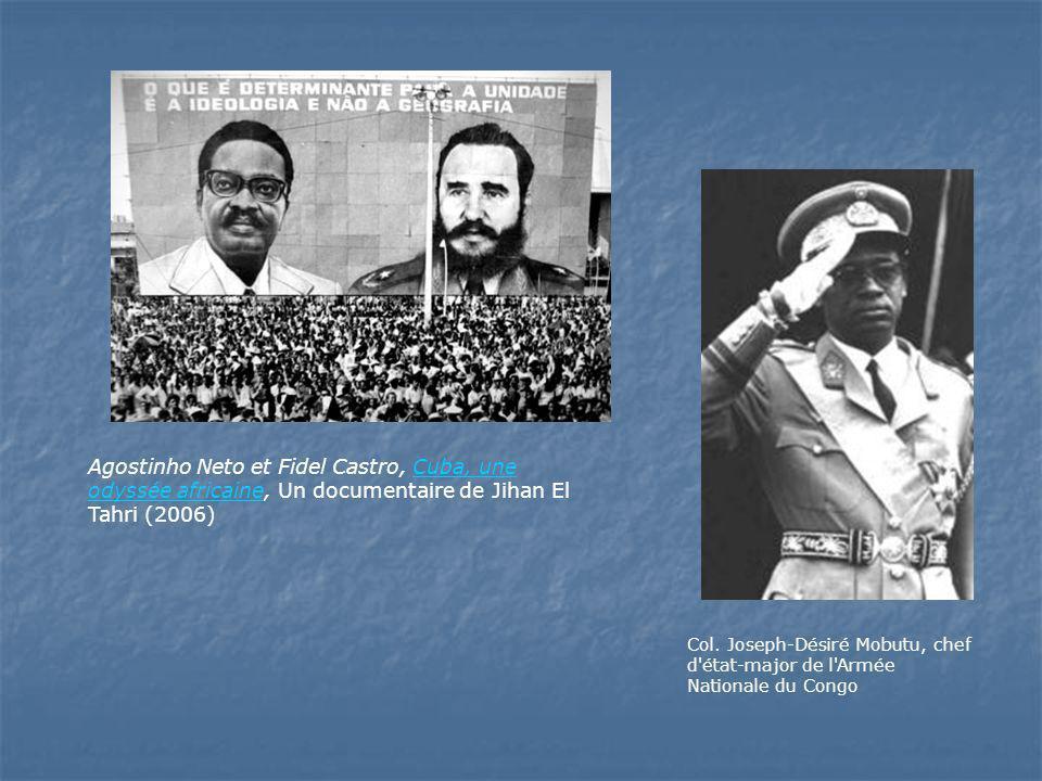 Agostinho Neto et Fidel Castro, Cuba, une odyssée africaine, Un documentaire de Jihan El Tahri (2006)