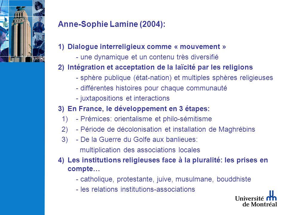 Anne-Sophie Lamine (2004):