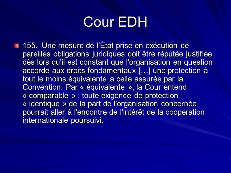 Cour EDH