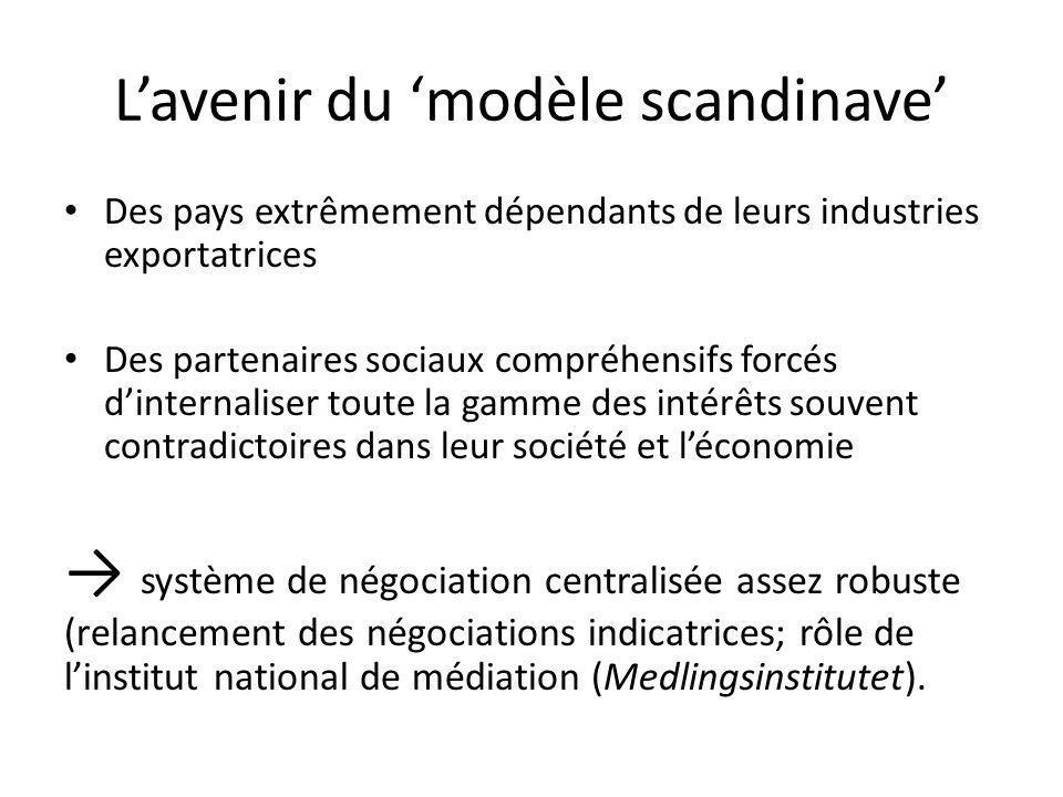 L'avenir du 'modèle scandinave'
