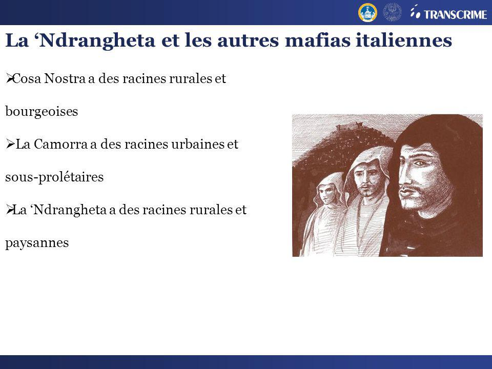 La 'Ndrangheta et les autres mafias italiennes
