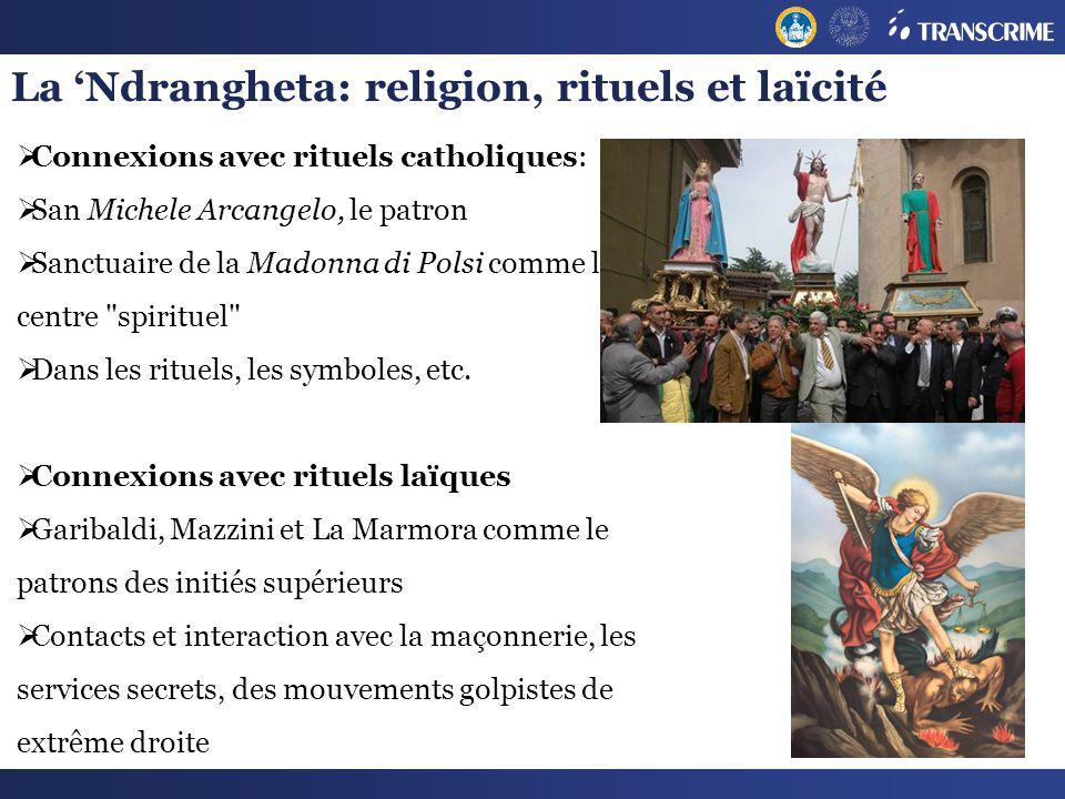 La 'Ndrangheta: religion, rituels et laïcité