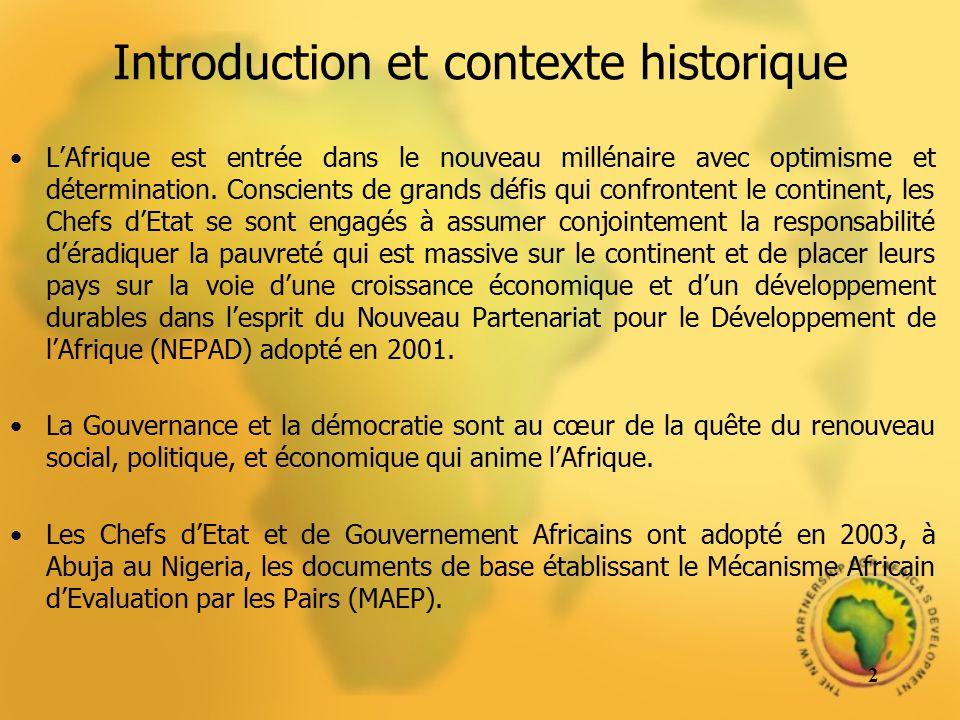 Introduction et contexte historique