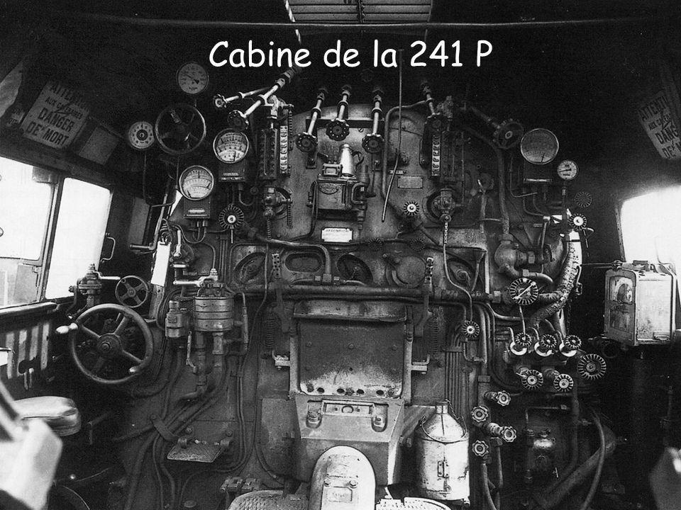 Cabine de la 241 P