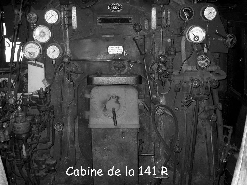 Cabine de la 141 R