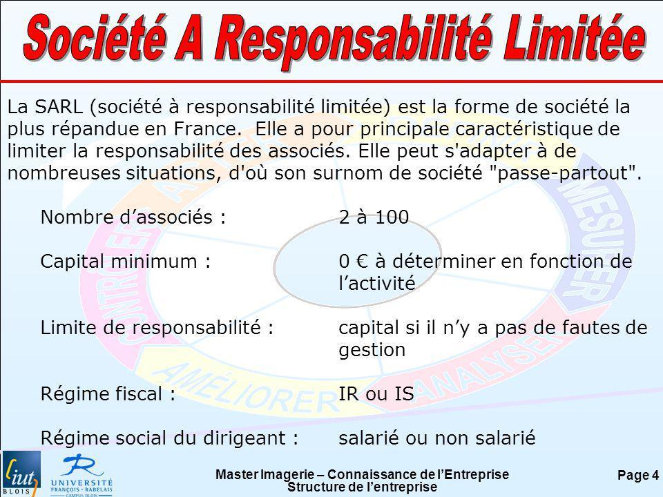 Société A Responsabilité Limitée