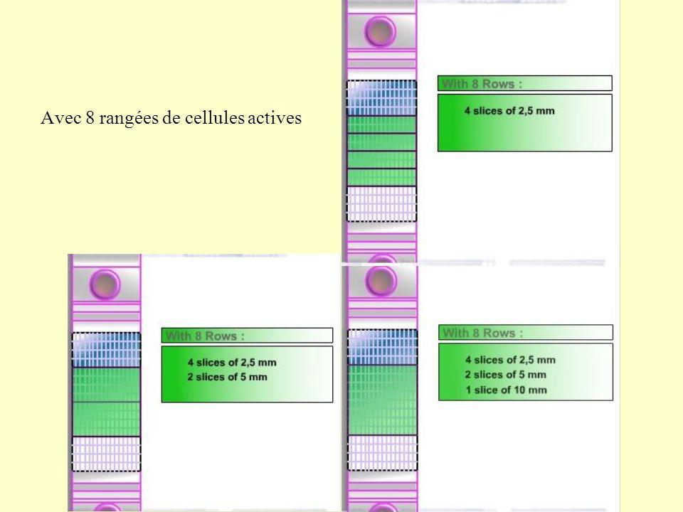 Avec 8 rangées de cellules actives