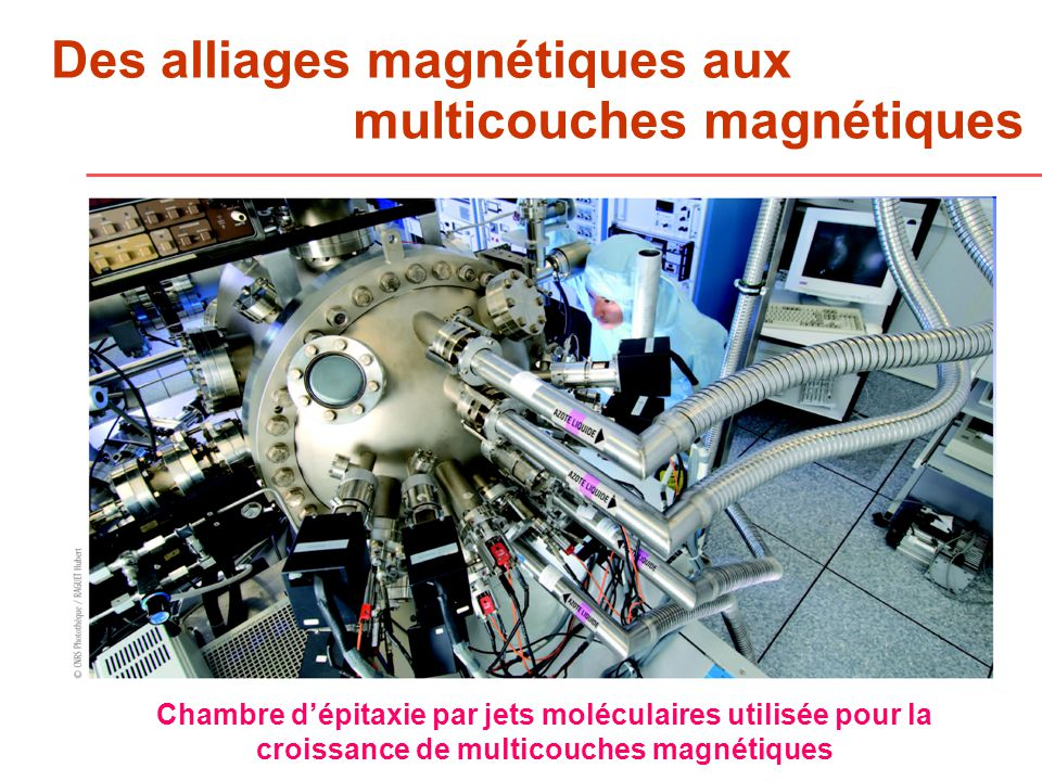 Des alliages magnétiques aux
