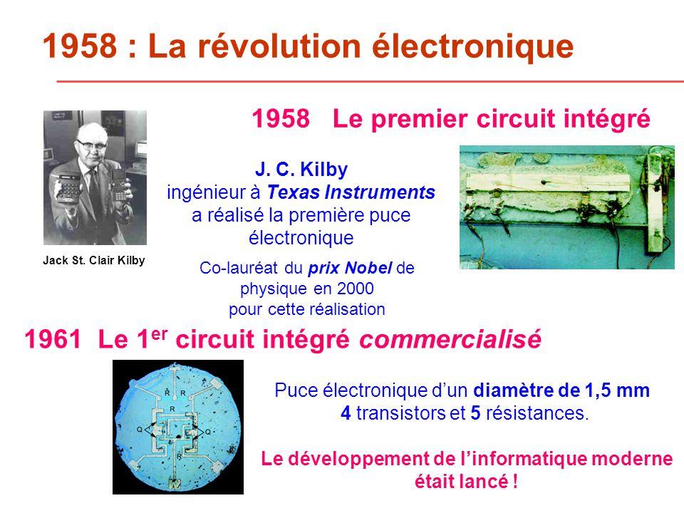 1958 : La révolution électronique