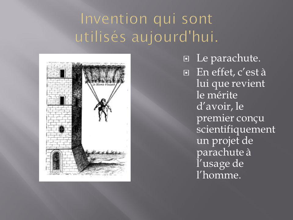 Invention qui sont utilisés aujourd hui.