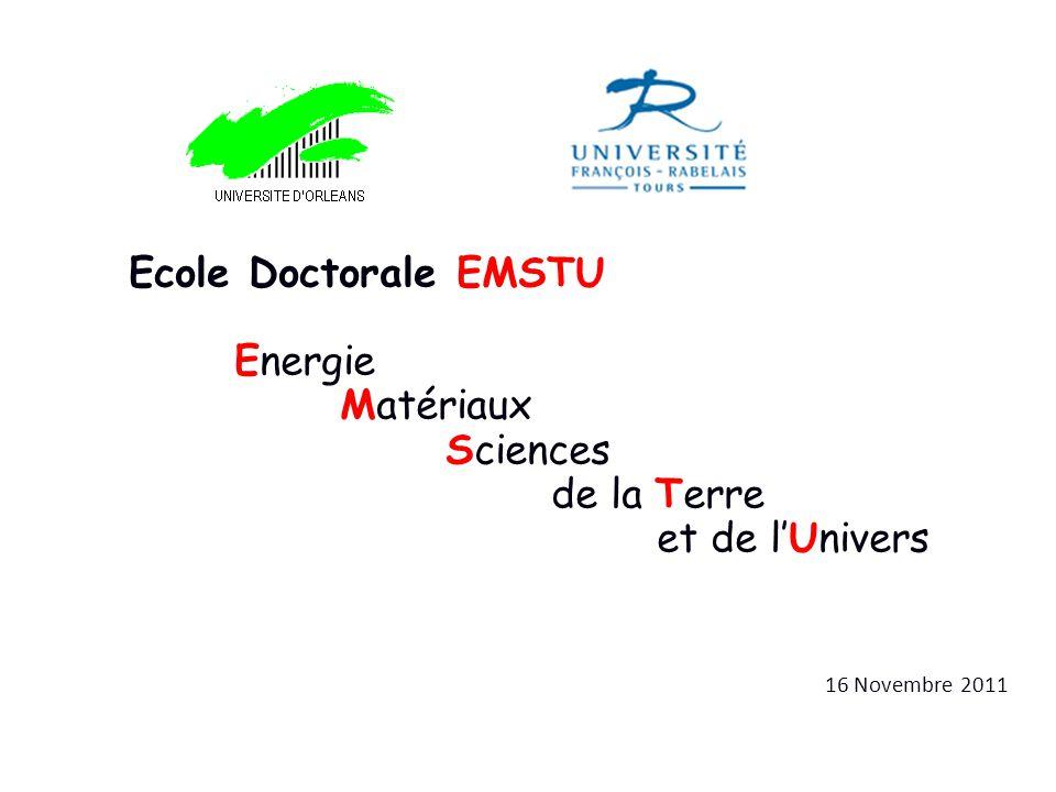 Ecole Doctorale EMSTU Energie Matériaux Sciences de la Terre
