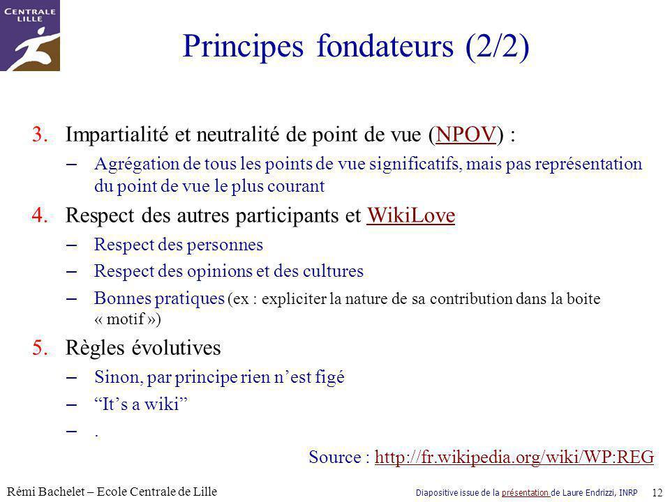 Principes fondateurs (2/2)