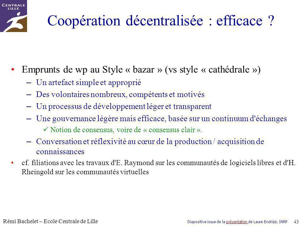 Coopération décentralisée : efficace