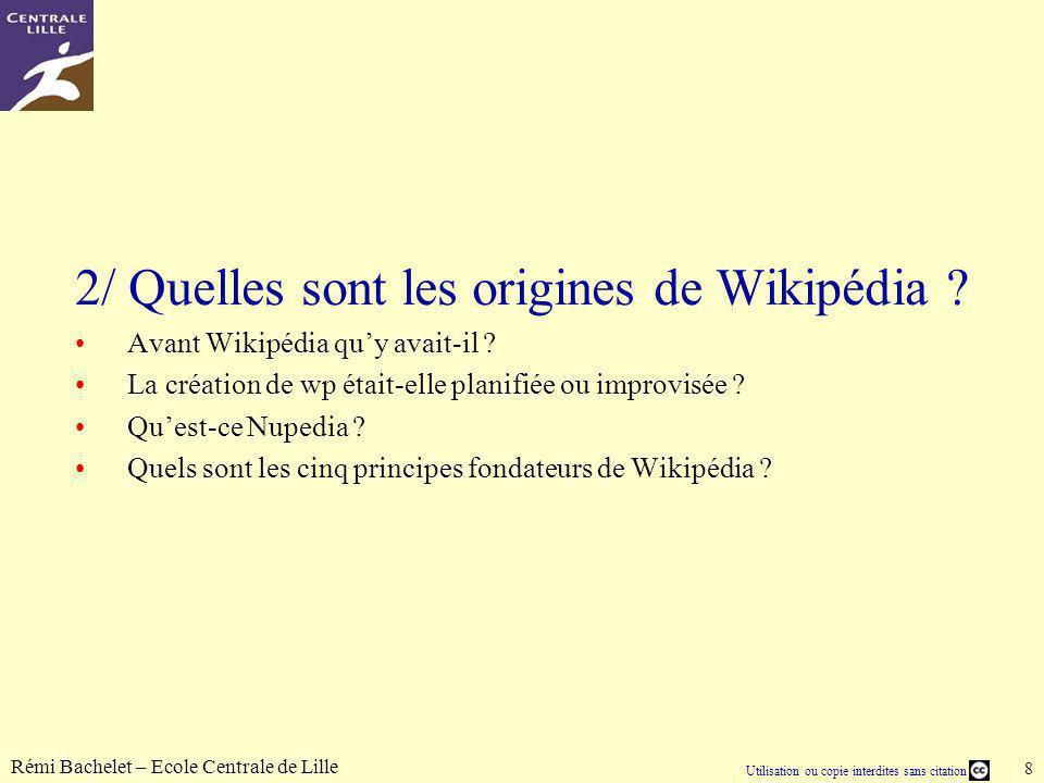 2/ Quelles sont les origines de Wikipédia