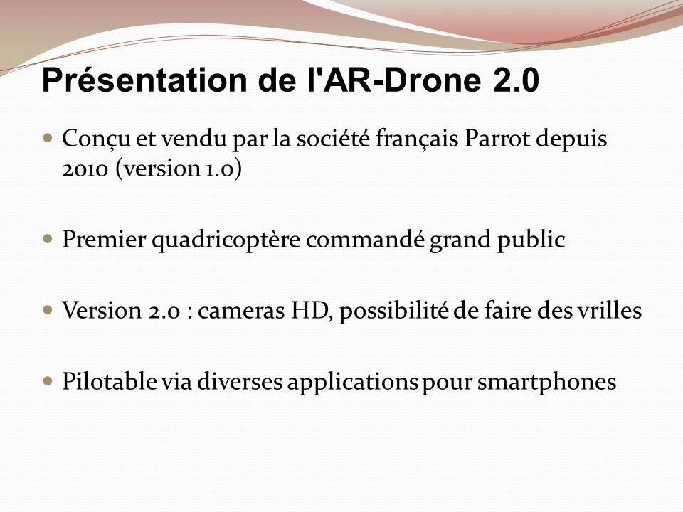 Présentation de l AR-Drone 2.0