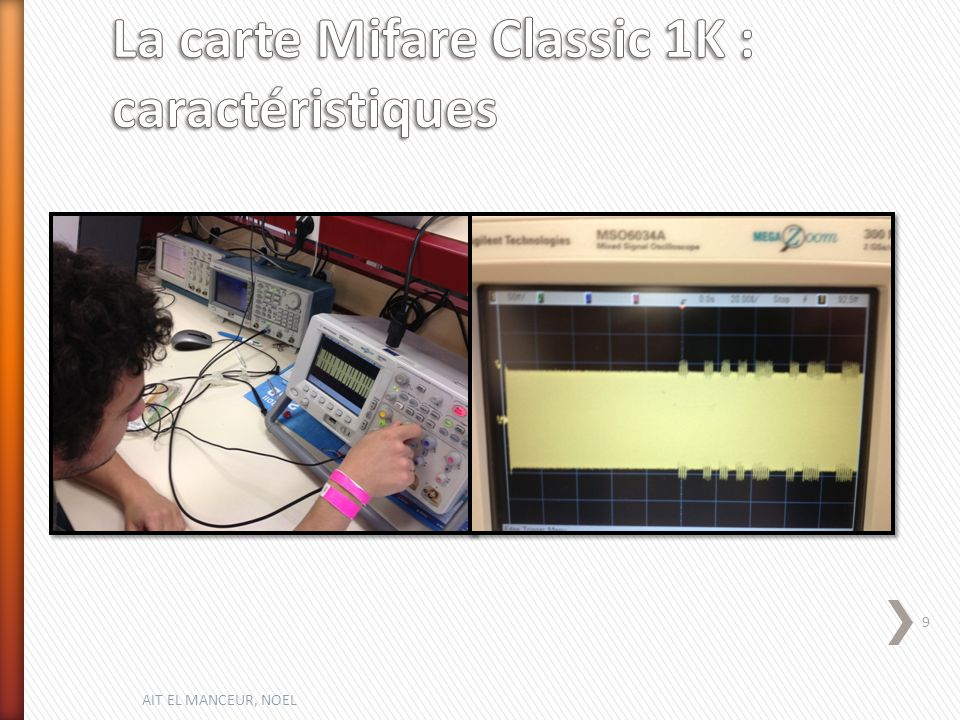 La carte Mifare Classic 1K : caractéristiques