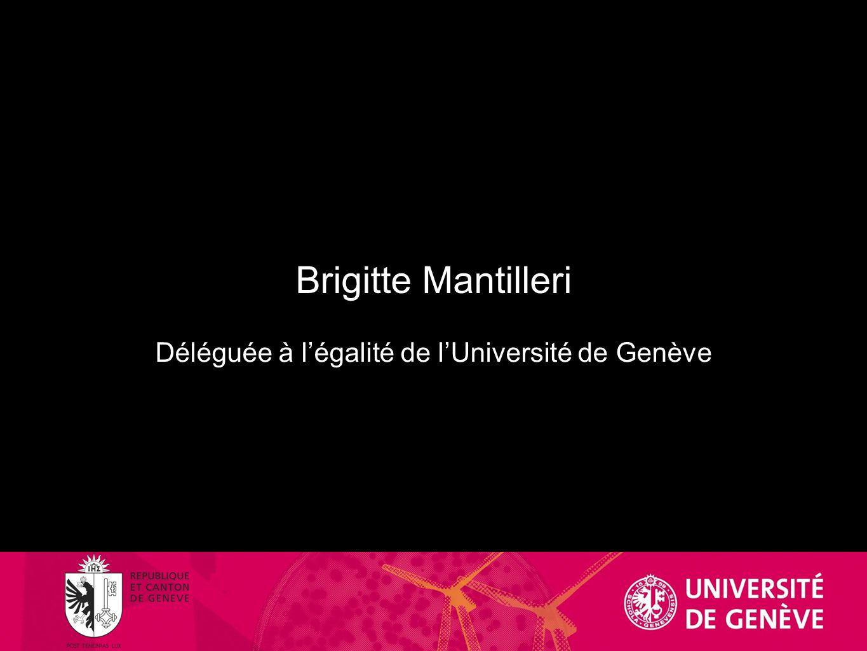 Déléguée à l'égalité de l'Université de Genève