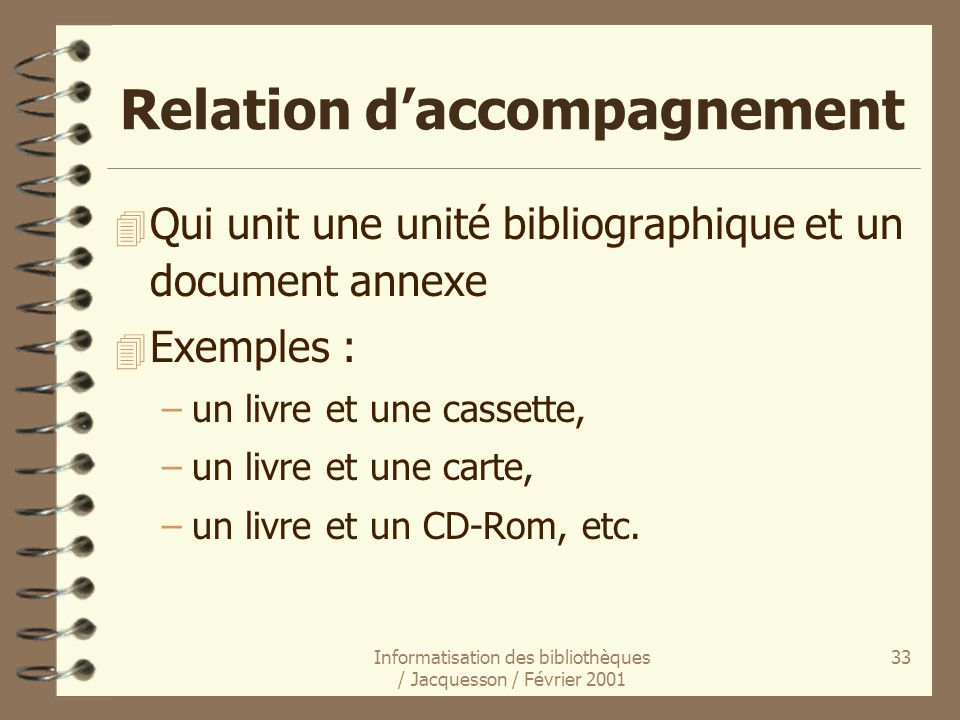 Relation d'accompagnement