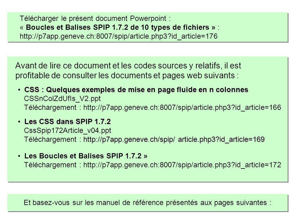 Télécharger le présent document Powerpoint :