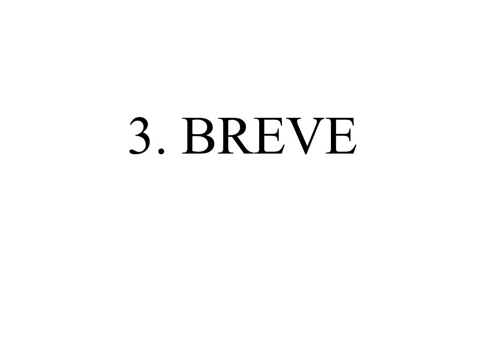 3. BREVE