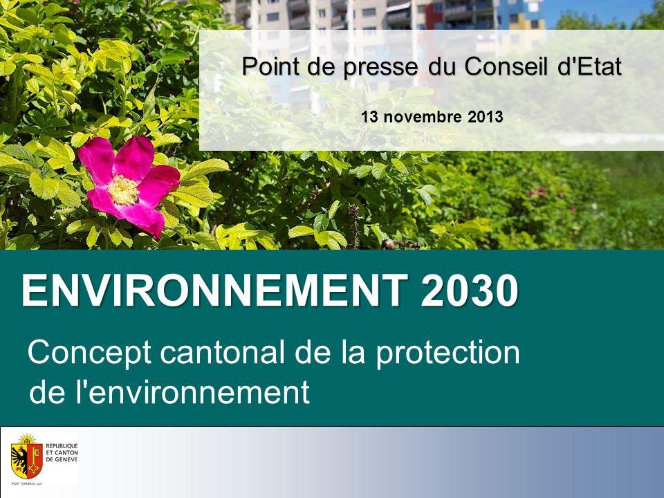 Point de presse du Conseil d Etat 13 novembre 2013