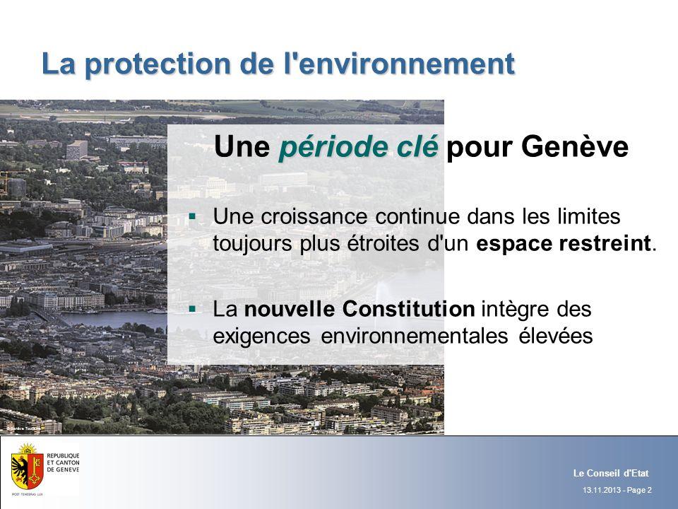 La protection de l environnement