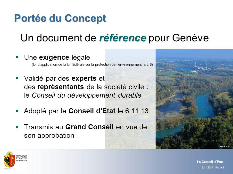 Un document de référence pour Genève