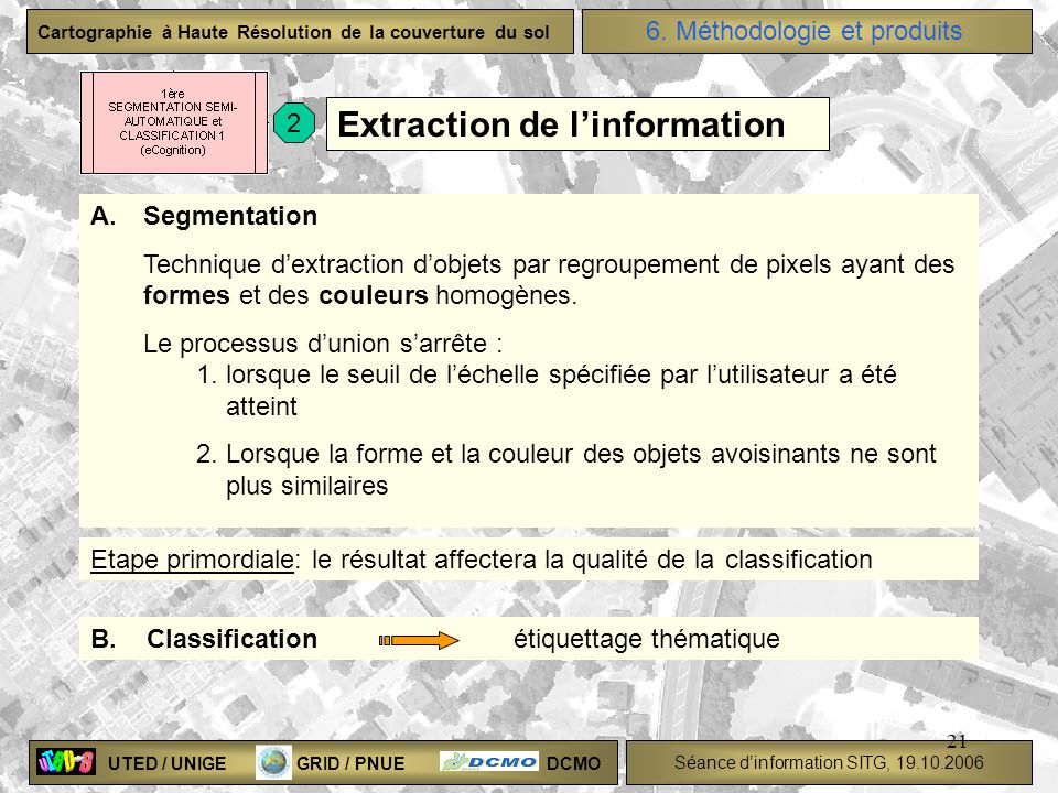 Extraction de l'information