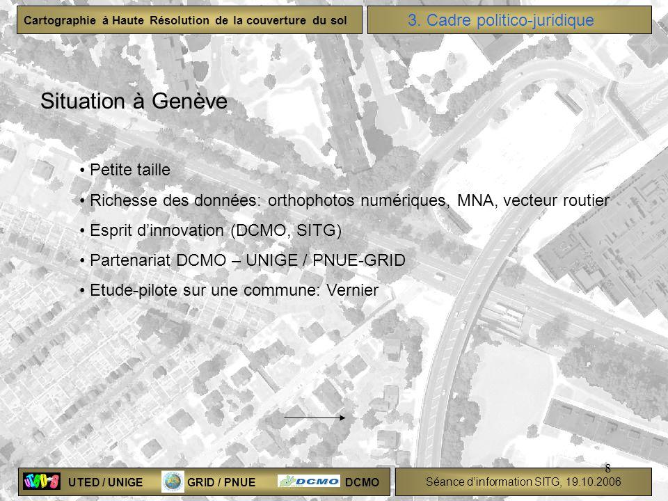 Situation à Genève 3. Cadre politico-juridique Petite taille