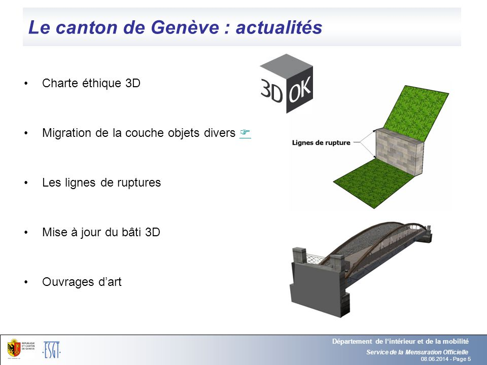 Le canton de Genève : actualités