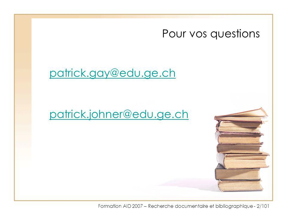 Pour vos questions patrick.gay@edu.ge.ch patrick.johner@edu.ge.ch