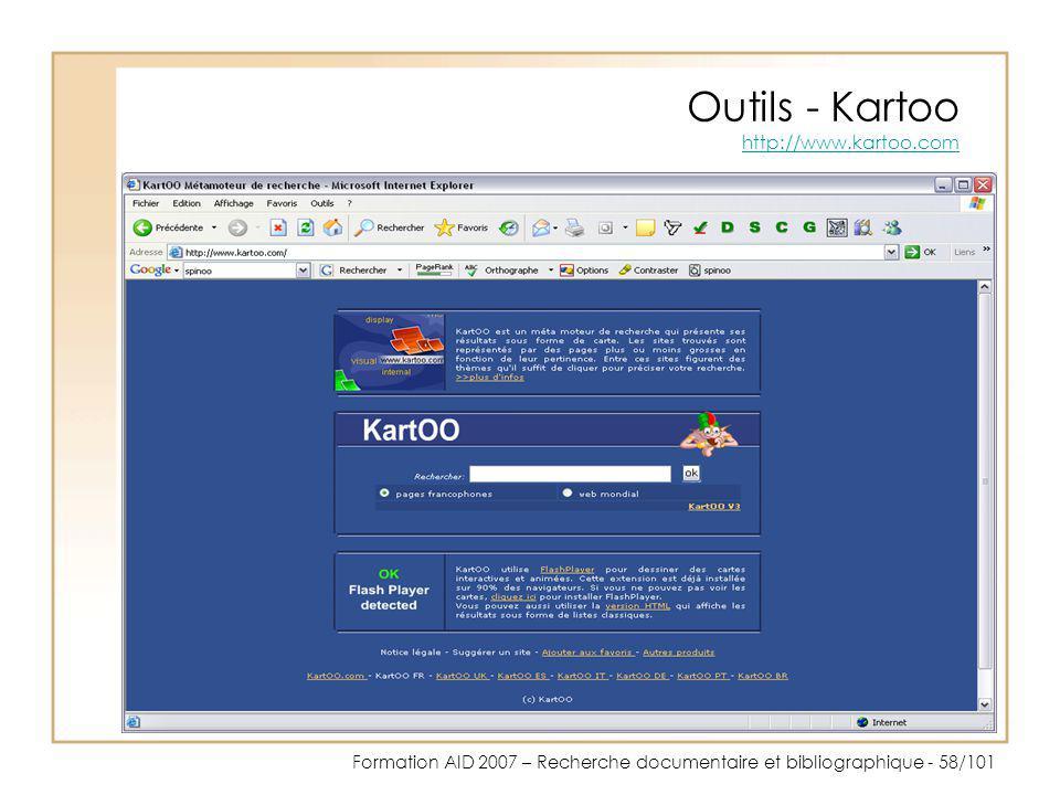 Outils - Kartoo http://www.kartoo.com