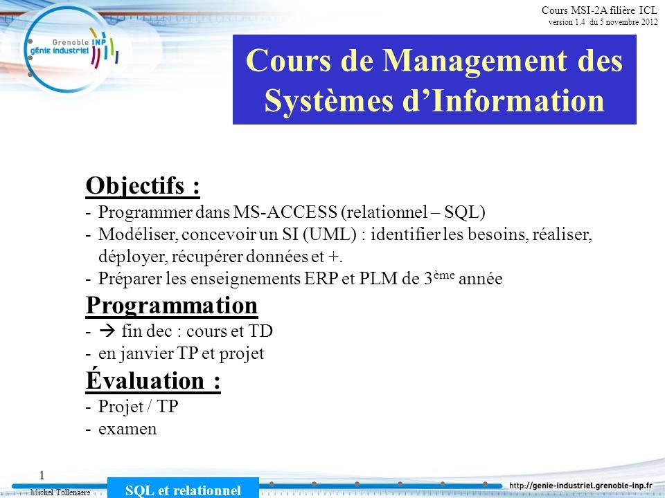 Cours de Management des Systèmes d'Information