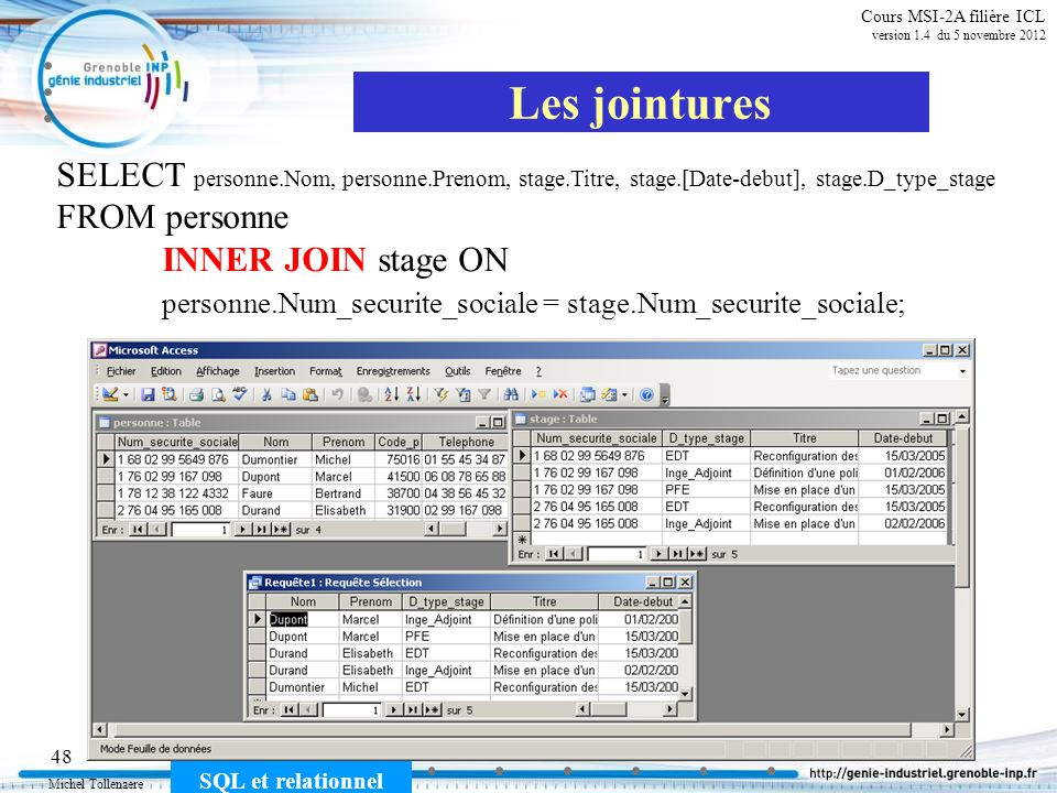 Cours MSI-2A filière ICL