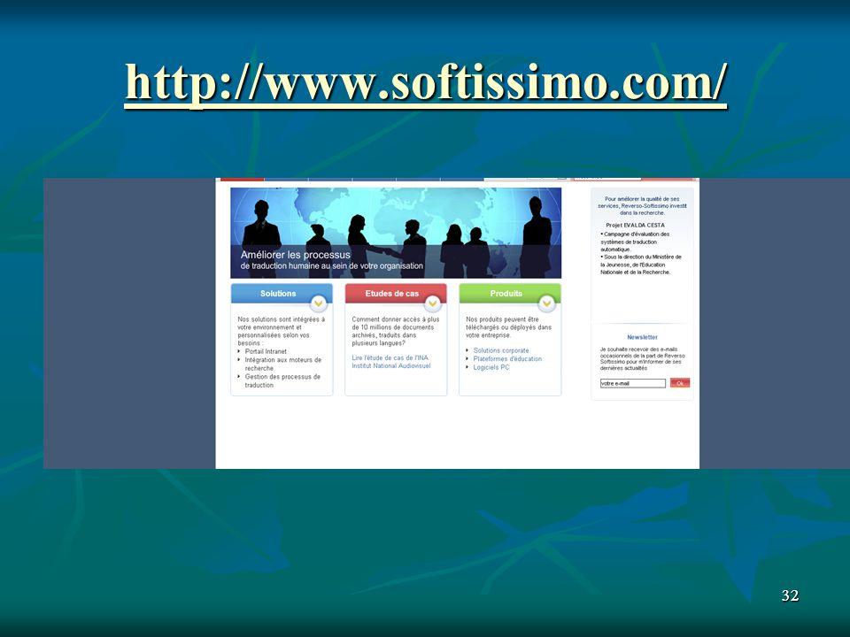 http://www.softissimo.com/ 32