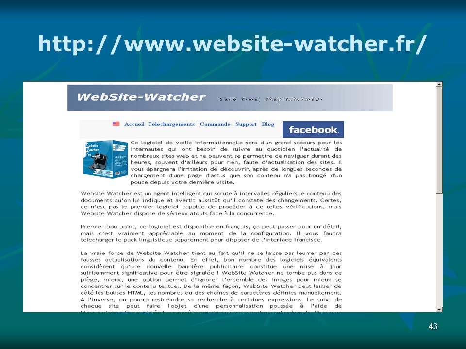 http://www.website-watcher.fr/