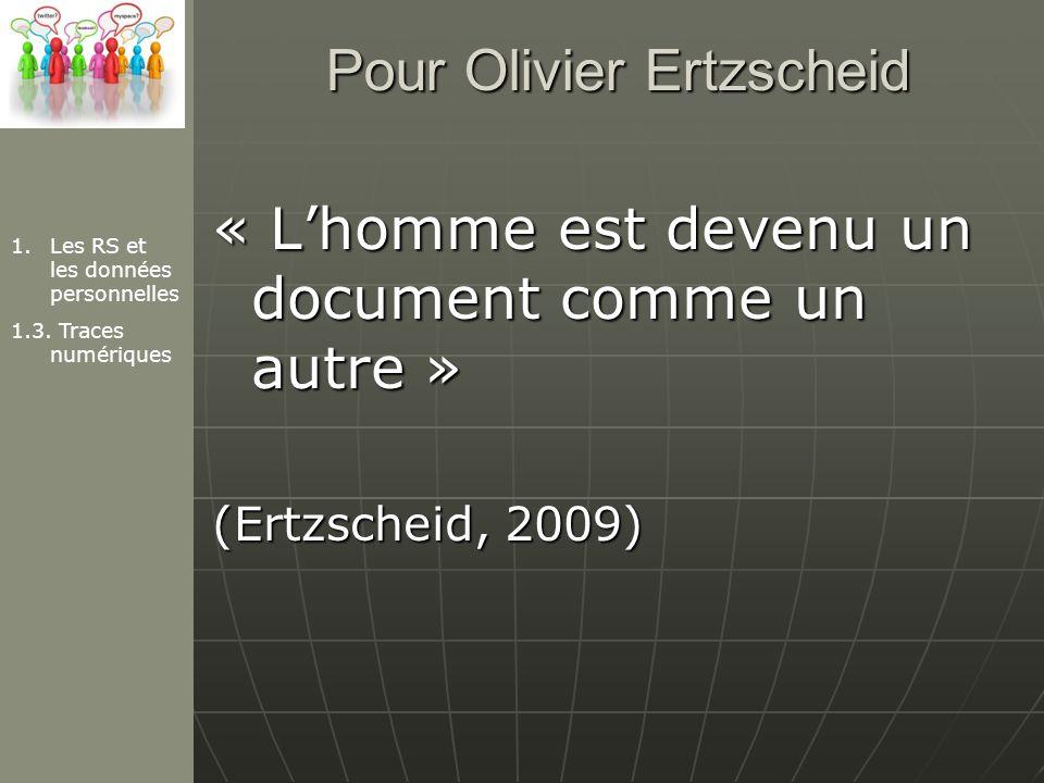 Pour Olivier Ertzscheid