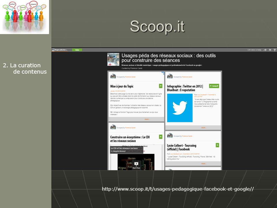 Scoop.it 2. La curation de contenus