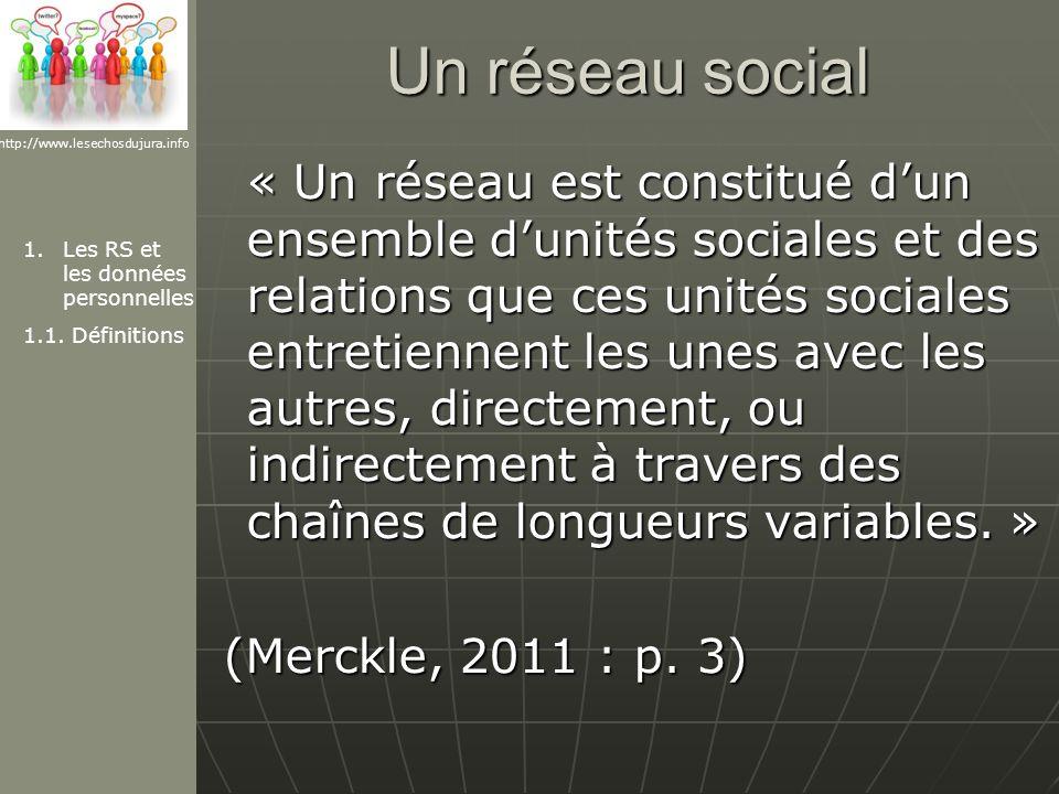 Un réseau social http://www.lesechosdujura.info.