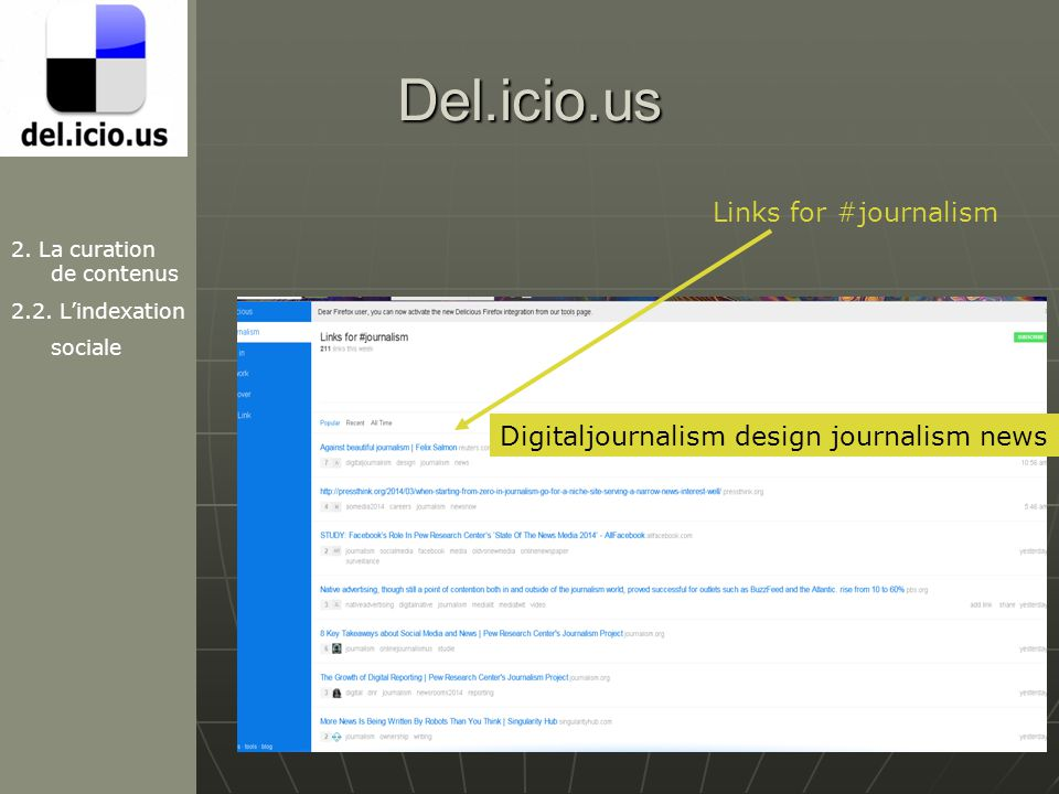 Del.icio.us Links for #journalism
