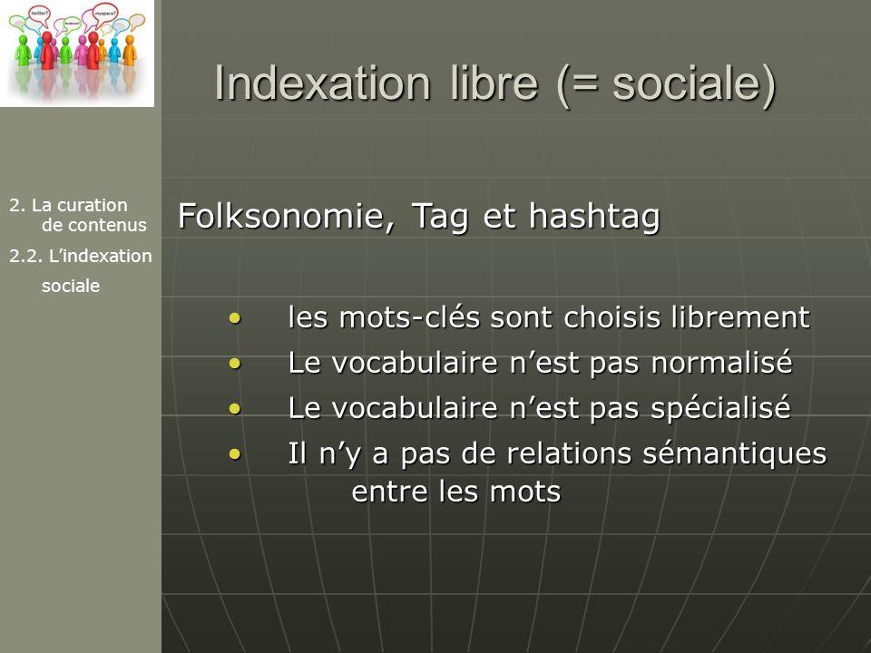 Indexation libre (= sociale)