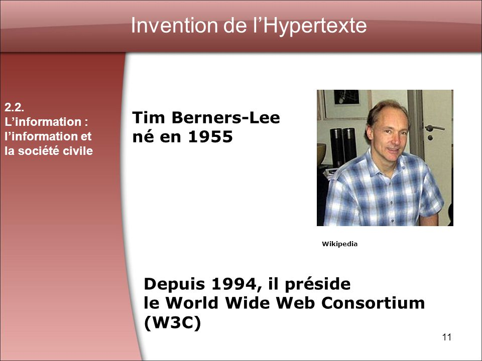 Invention de l'Hypertexte