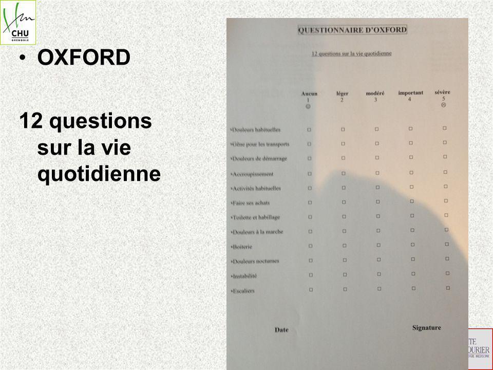 OXFORD 12 questions sur la vie quotidienne